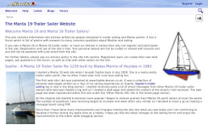 Manta 19 - Sailing website for Manta 19 sailors